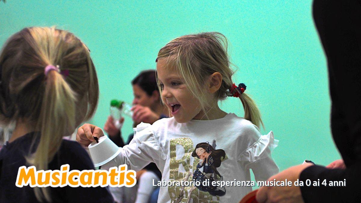 Musicantis, laboratorio musicale per bambini da 0 a 4 anni